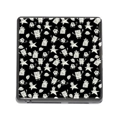 Doodle Bob Pattern Memory Card Reader (square 5 Slot)