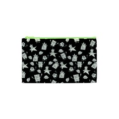 Doodle Bob Pattern Cosmetic Bag (xs)