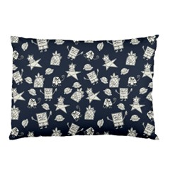 Doodle Bob Pattern Pillow Case (two Sides)