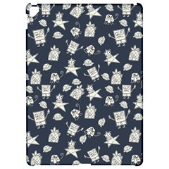 Doodle Bob Pattern Apple Ipad Pro 12 9   Hardshell Case
