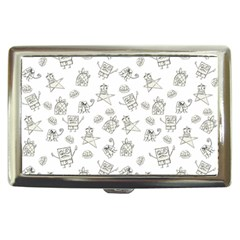 Doodle Bob Pattern Cigarette Money Case
