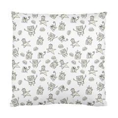 Doodle Bob Pattern Standard Cushion Case (two Sides)