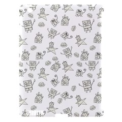 Doodle Bob Pattern Apple Ipad 3/4 Hardshell Case (compatible With Smart Cover)