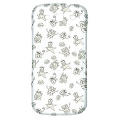 Doodle Bob Pattern Samsung Galaxy S3 S Iii Classic Hardshell Back Case