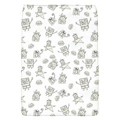 Doodle Bob Pattern Removable Flap Cover (s)