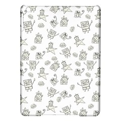 Doodle Bob Pattern Ipad Air Hardshell Cases