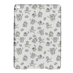 Doodle Bob Pattern Ipad Air 2 Hardshell Cases