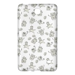Doodle Bob Pattern Samsung Galaxy Tab 4 (8 ) Hardshell Case  by Valentinaart