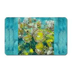 Bloom In Vintage Ornate Style Magnet (rectangular)