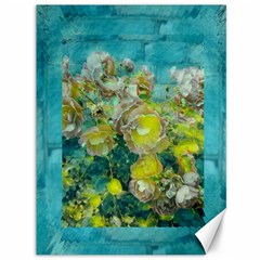 Bloom In Vintage Ornate Style Canvas 36  X 48