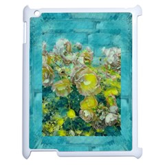 Bloom In Vintage Ornate Style Apple Ipad 2 Case (white)