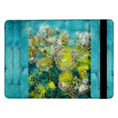 Bloom In Vintage Ornate Style Samsung Galaxy Tab Pro 12 2  Flip Case by pepitasart
