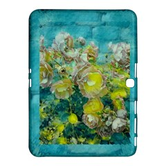 Bloom In Vintage Ornate Style Samsung Galaxy Tab 4 (10 1 ) Hardshell Case  by pepitasart