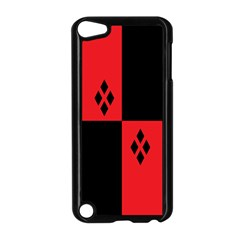Harley Apple Ipod Touch 5 Case (black) by raeraeshescrafty