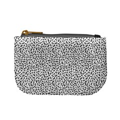 B/w Abstract Pattern 1 Mini Coin Purse