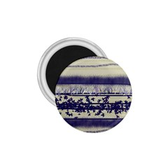 Abstract Beige Blue Lines 1 75  Magnets