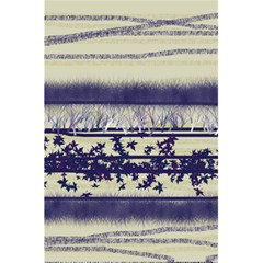 Abstract Beige Blue Lines 5 5  X 8 5  Notebook