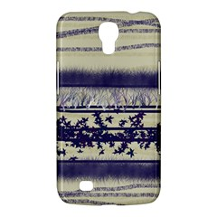 Abstract Beige Blue Lines Samsung Galaxy Mega 6 3  I9200 Hardshell Case