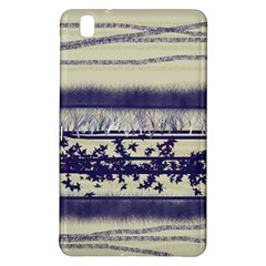 Abstract Beige Blue Lines Samsung Galaxy Tab Pro 8 4 Hardshell Case