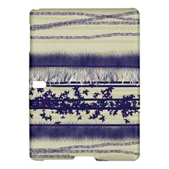 Abstract Beige Blue Lines Samsung Galaxy Tab S (10 5 ) Hardshell Case
