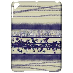 Abstract Beige Blue Lines Apple Ipad Pro 9 7   Hardshell Case