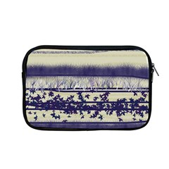 Abstract Beige Blue Lines Apple Macbook Pro 13  Zipper Case