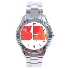 Picsart 08 15 11 00 26 Stainless Steel Analogue Watch