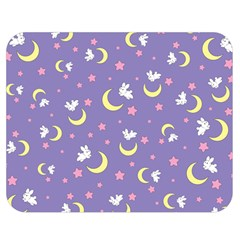Rabbit Of The Moon Double Sided Flano Blanket (medium)