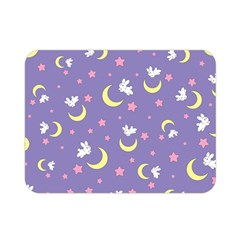 Rabbit Of The Moon Double Sided Flano Blanket (mini)