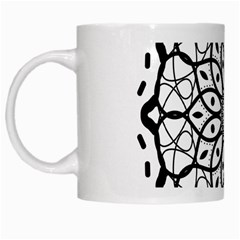 Textura Model Texture Design Lines White Mugs