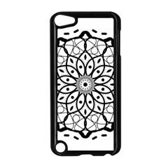 Textura Model Texture Design Lines Apple Ipod Touch 5 Case (black) by Simbadda
