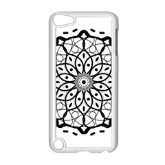 Textura Model Texture Design Lines Apple Ipod Touch 5 Case (white) by Simbadda