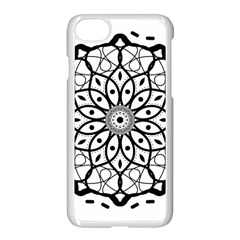 Textura Model Texture Design Lines Apple Iphone 8 Seamless Case (white)