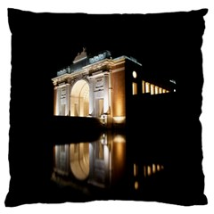 Menin Gate Ieper Monument Standard Flano Cushion Case (one Side)