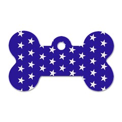 Day Independence July Background Dog Tag Bone (two Sides)