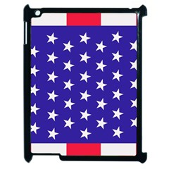 Day Independence July Background Apple Ipad 2 Case (black) by Simbadda