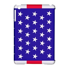 Day Independence July Background Apple Ipad Mini Hardshell Case (compatible With Smart Cover)