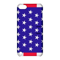 Day Independence July Background Apple Ipod Touch 5 Hardshell Case With Stand