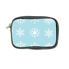 Snowflakes Winter Graphics Weather Coin Purse