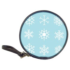 Snowflakes Winter Graphics Weather Classic 20 Cd Wallets