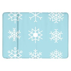Snowflakes Winter Graphics Weather Samsung Galaxy Tab 8 9  P7300 Flip Case