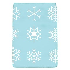Snowflakes Winter Graphics Weather Removable Flap Cover (s) by Simbadda