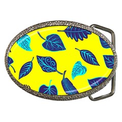 Leaves Pattern Picture Detail Belt Buckles by Simbadda