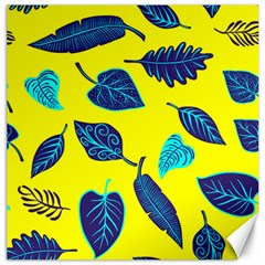 Leaves Pattern Picture Detail Canvas 20  X 20  by Simbadda