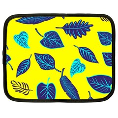 Leaves Pattern Picture Detail Netbook Case (large)
