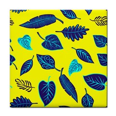 Leaves Pattern Picture Detail Face Towel by Simbadda