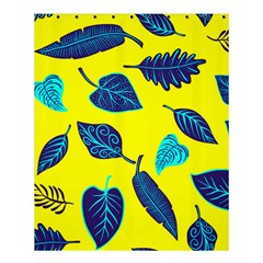 Leaves Pattern Picture Detail Shower Curtain 60  X 72  (medium)  by Simbadda