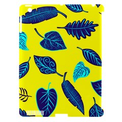 Leaves Pattern Picture Detail Apple Ipad 3/4 Hardshell Case (compatible With Smart Cover)