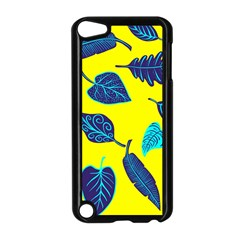 Leaves Pattern Picture Detail Apple Ipod Touch 5 Case (black) by Simbadda