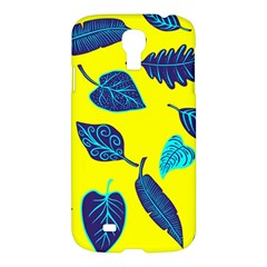 Leaves Pattern Picture Detail Samsung Galaxy S4 I9500/i9505 Hardshell Case